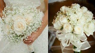 How to Arrange A Bridal Bouquet   DIY wedding bouquet   fresh flower bouquet for wedding