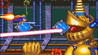 SNES Longplay Sparkster / スーパーファミコン スパークスター