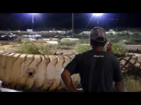 Doug Pitzer #22 Heat 1 4/1/17 Paradise Speedway Maui