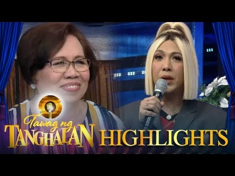 Tawag ng Tanghalan: Mommy Rosario visits Vice in It's Showtime