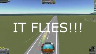 A plane powered purely by bullets! in KSP