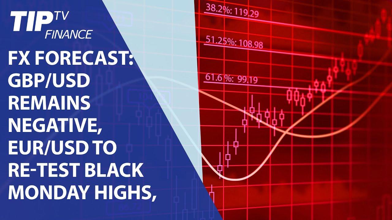 Fx Forecast GBP USD Outlook Negative EUR To Re Test Black Monday Highs CAD 155