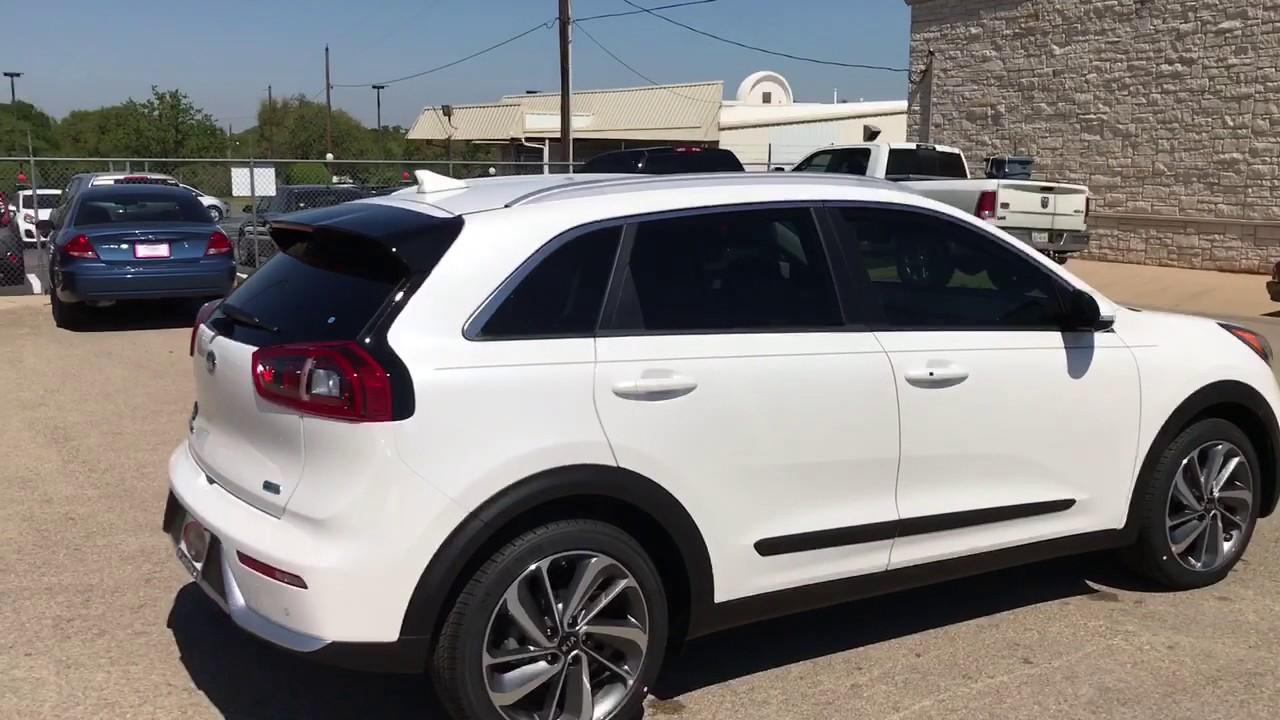 Kia Niro Plug In >> Kia Niro Touring Snow White Pearl 5047021 - YouTube