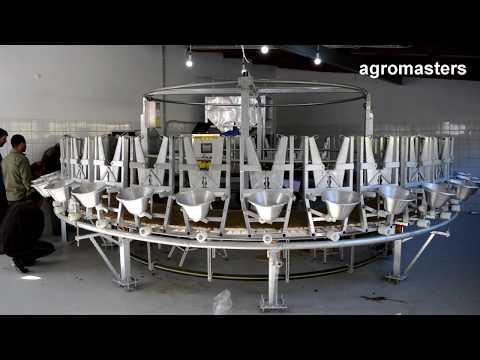 Agromasters - Rotary Milking Parlor (sheep & Goats)  - Platform Testing  -