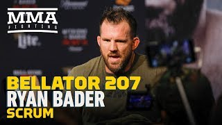 Bellator 207: Ryan Bader Calls UFC Light Heavyweight Division 'Shallow' - MMA Fighting