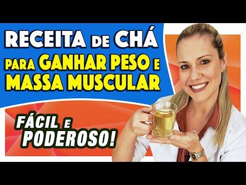 Chá para ENGORDAR COM SAÚDE - Ganhar Peso e Massa Muscular