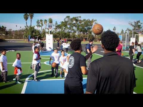 LA Clippers Foundation x Cedars Sinai Refurbishment of 24th Street Elementary School