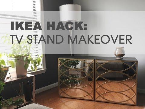 Ikea Hack Tv Stand Youtube