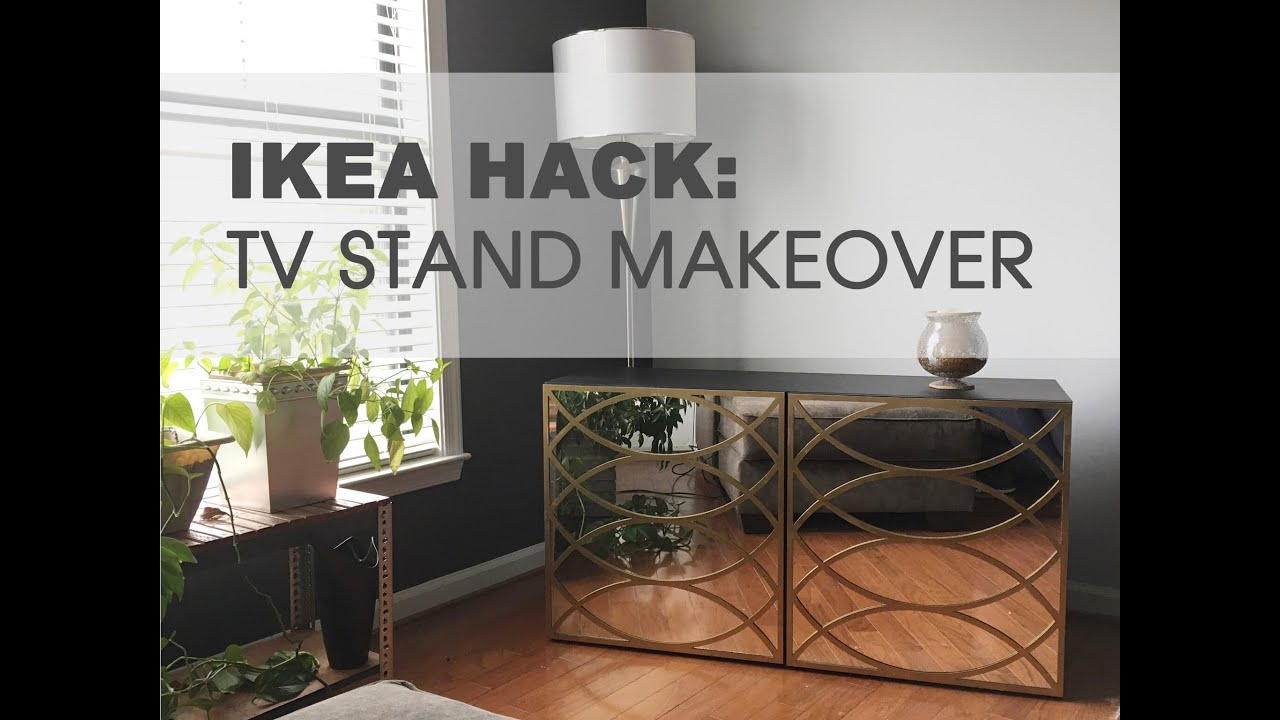Ikea Hack Tv Stand Youtube