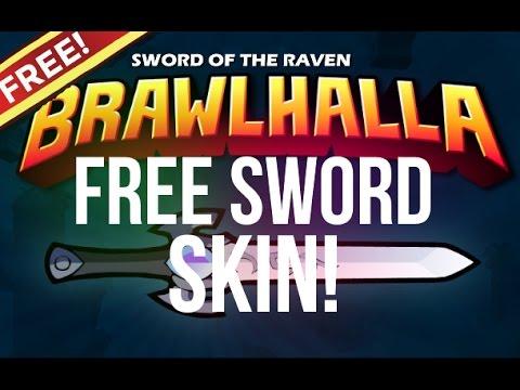 Brawlhalla: FREE Sword of the Raven Skin! [Season 3]