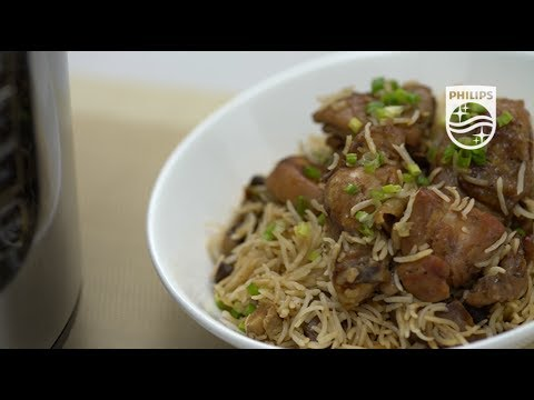 HD2137 - Philips All-in-One Pressure Cooker - Claypot Chicken Rice Recipe