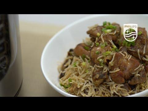HD2137 - Philips All-in-One Pressure Cooker - Claypot Chicken Rice Recipe