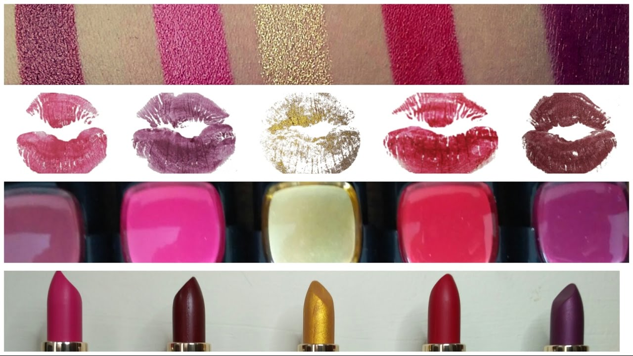 5d1cc2b4723 New* L'Oreal Paris Gold Obsession Lipsticks |#BoldinGold |Swatches ...