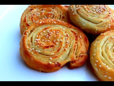 Pužići sa sirom / Mini pecivo / Cheese rolls