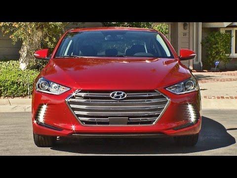 Hyundai Elantra (2017) Interior, Exterior, Driving [YOUCAR]