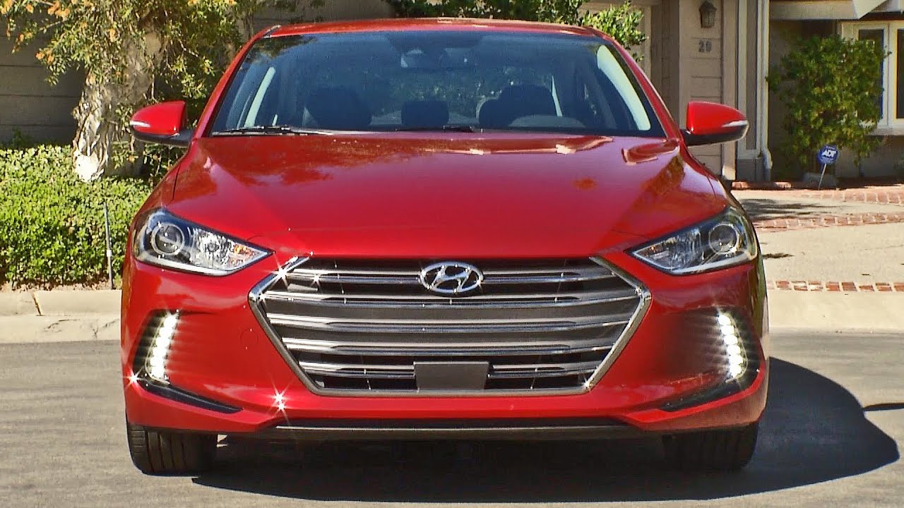 Hyundai Elantra 2017 Interior Exterior Driving YOUCAR