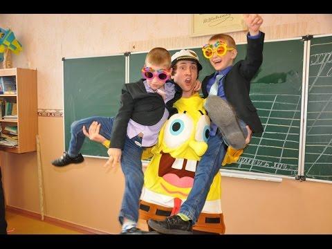 День рождения близнецов, 7 лет. Sponge Bob & Happy Birthday!