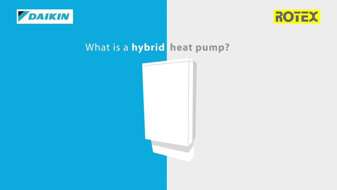 Daikin | How does a hybrid heat pump work? - YouTube