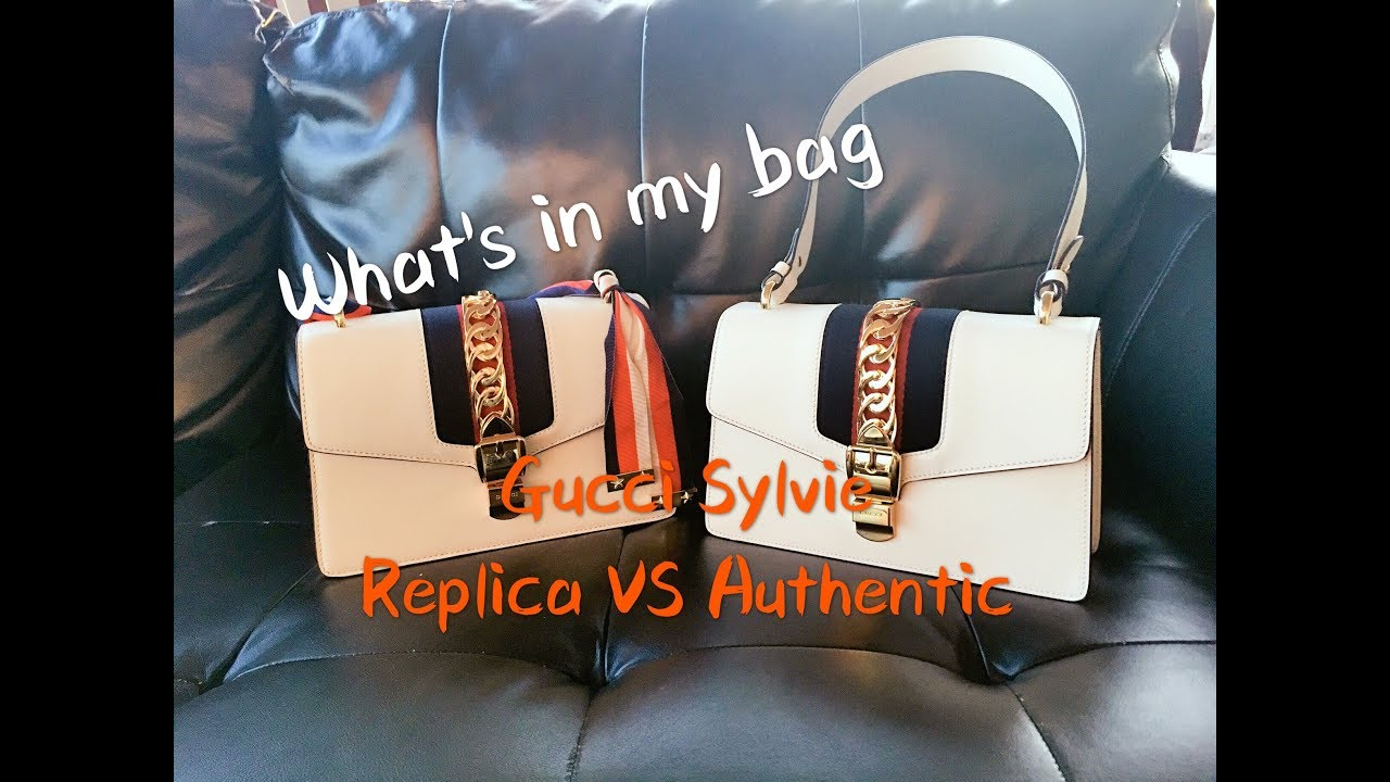 0ab2121fe17 WHAT S IN MY BAG Gucci Sylvie Review  REAL FAKE COMPARISON - YouTube