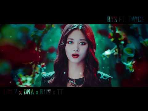 TWICE 트와이스 X BTS 방탄소년단 - LIKEY x DNA x RUN x TT (MASHUP BY YOAN'S STUDIO)