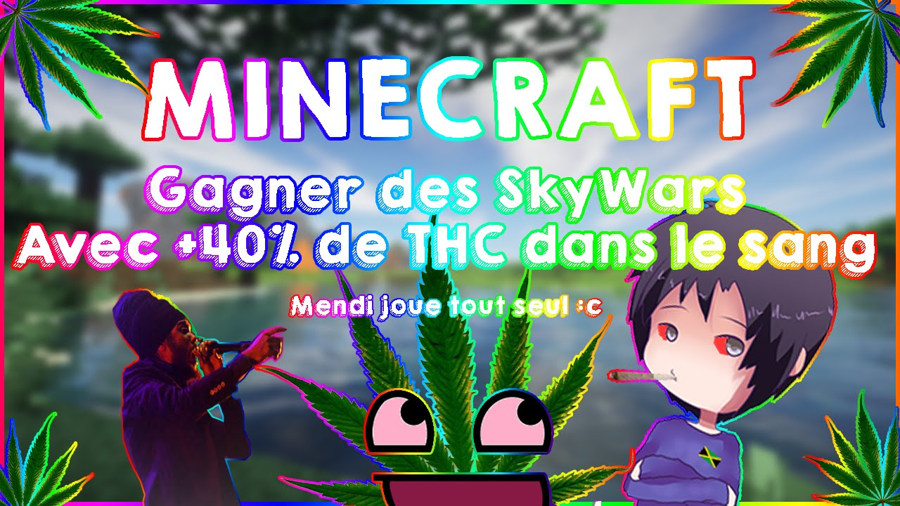 minecraft gagner des skywars avec 40 de thc dans le sang youtube. Black Bedroom Furniture Sets. Home Design Ideas