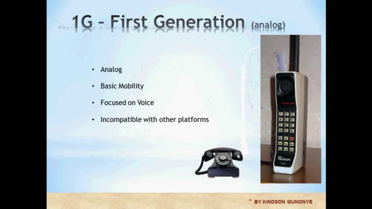 Generations of Mobile Telecommunication Networks