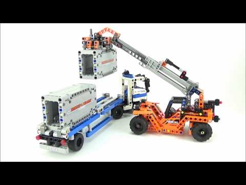 LEGO® Technic 42062 Container Lader Review +
