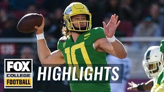 Oregon vs Michigan State | FOX COLLEGE FOOTBALL HIGHLIGHTS