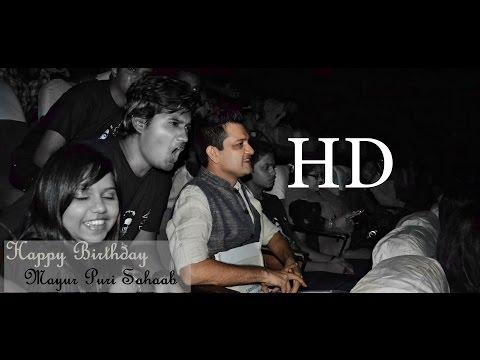 Happy Birthday Mayur Puri Saahab by SRK FC Nagpur