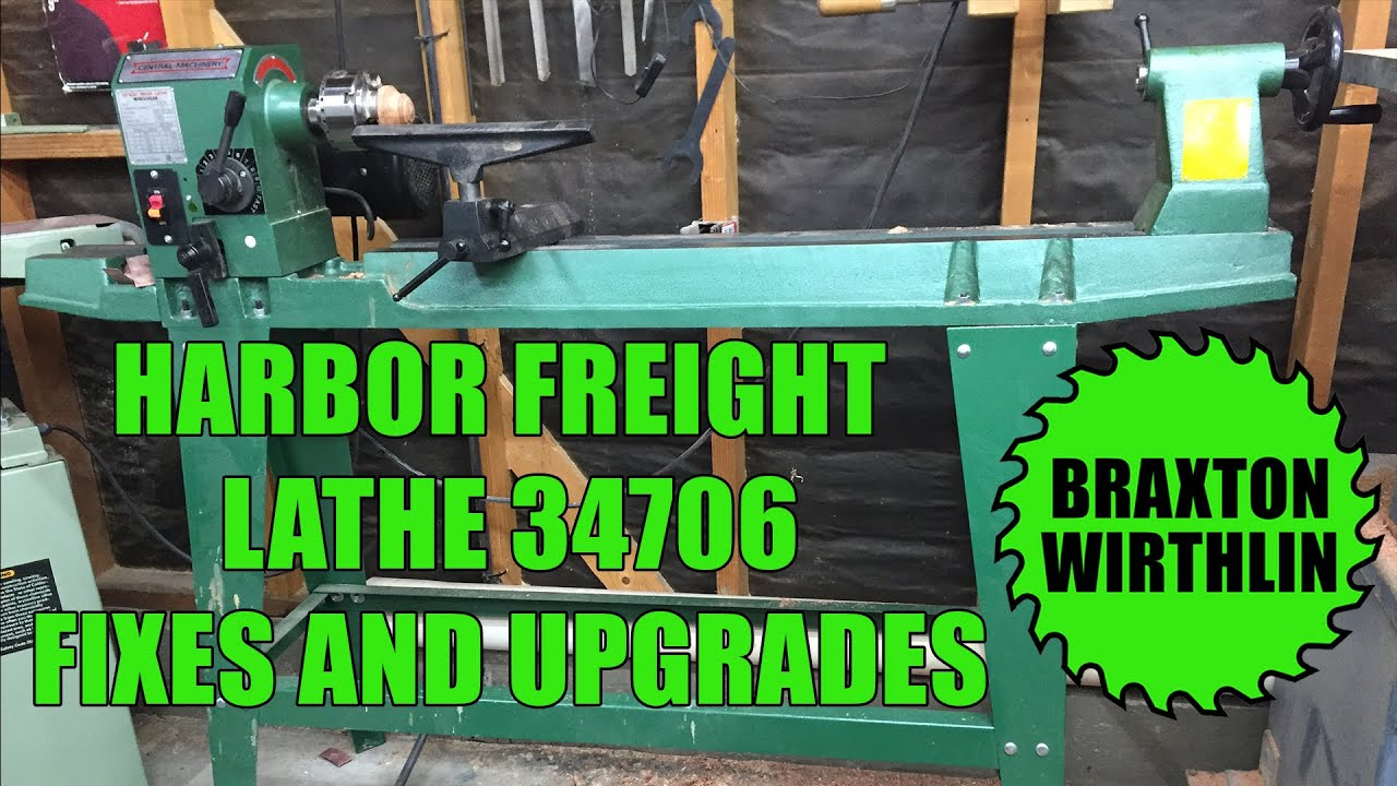 maxresdefault harbor freight lathe 34706 fixes and upgrades youtube