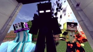 4Brothers VS NULL | The Elevator Collab Entry [ Minecraft Animation ]