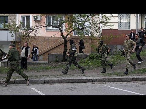 Ukraine: government buildings