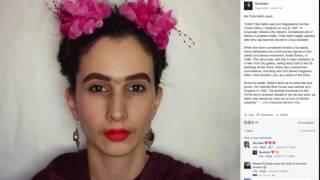 رند جارالله تستخدم مساحيق التجميل لتدعم حقوق المرأة.