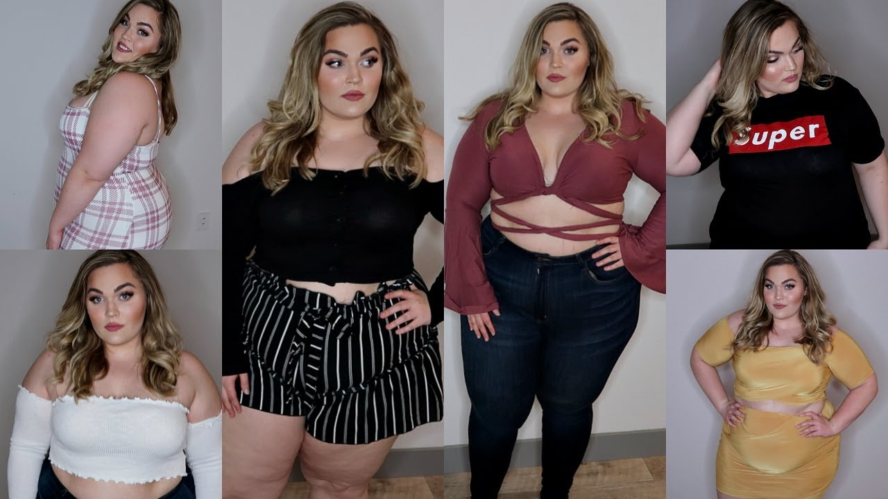 f5282785a8 Spring Plus-Size Clothing Haul   Try-On
