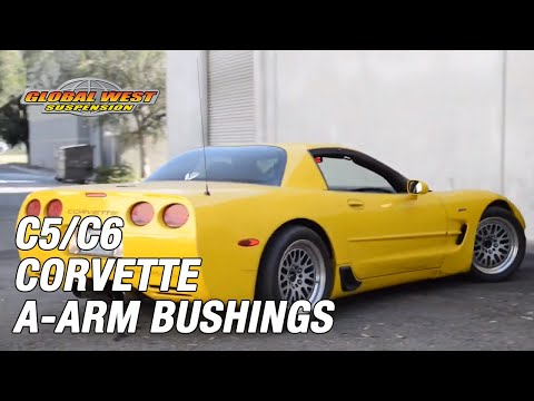 Suspension solution for Corvette C5 and C6 worn out or