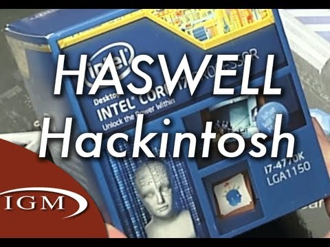 Hackintosh Project: Hackintosh Pro 2013 - Haswell Build - Components Part (#13)