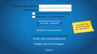 contrasena de pinguino socio club penguin no suspendido 2015