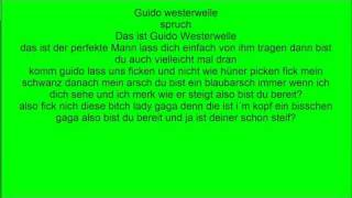 guido westerwelle song text