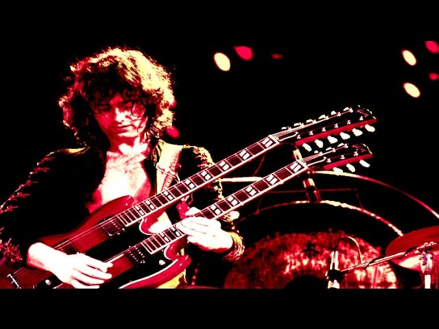 JIMMY PAGE's 17 Greatest Guitar Techniques!