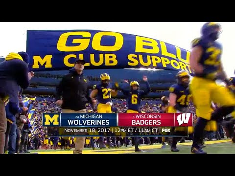 Week 12 Football Preview: Michigan at Wisconsin