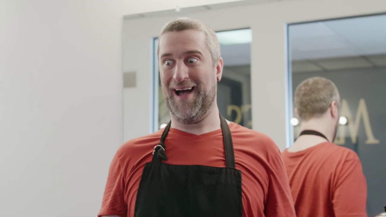 Insurance King ad with Dustin Diamond (barber shop)