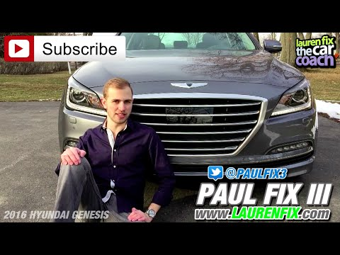 2016 Hyundai Genesis Car Review by Paul Fix III