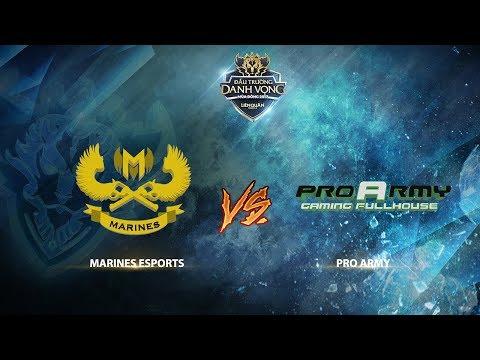 Marines Esports vs ProArmy [Vòng 3 - Ván 1] [23.09.2017]