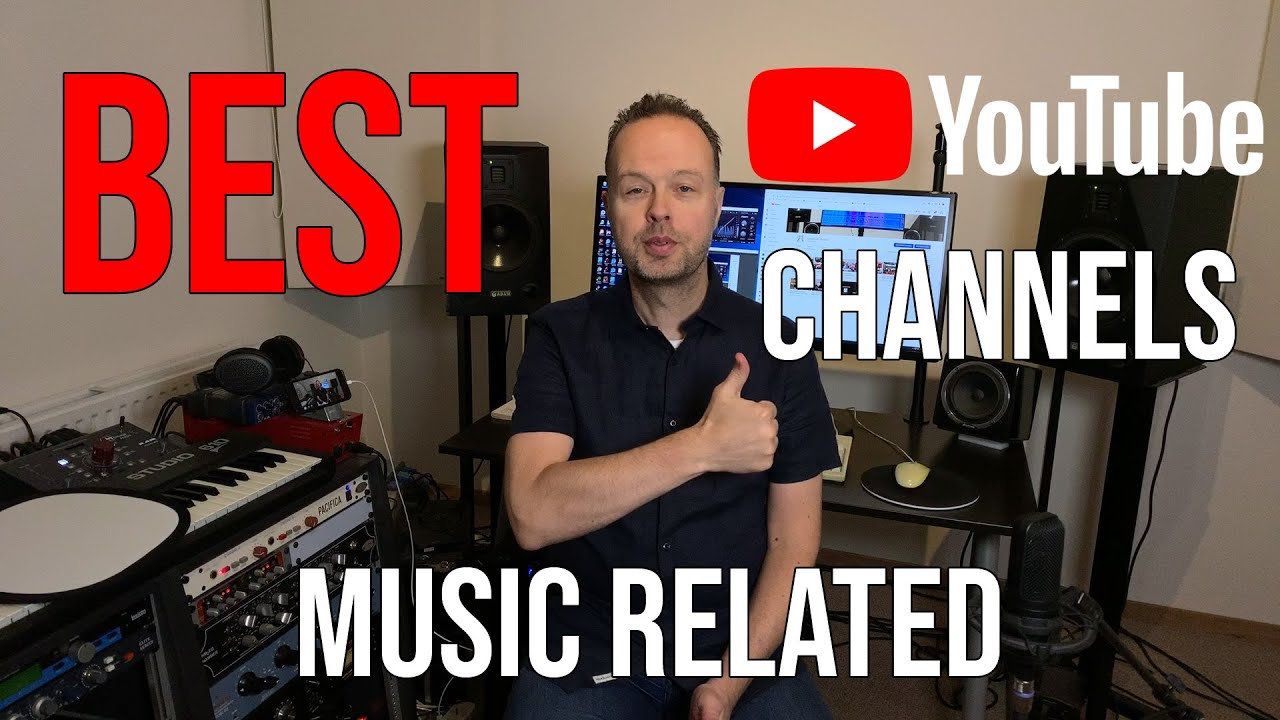 Best Music Related Youtube Channels On Production Guitar Music Theory Gear Audio Engineering Youtube