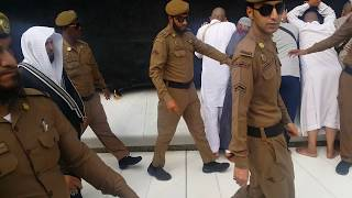 Kabe İmamı Mahir İkindi Namazından çıkarken  Mahir Al Muaiqly 16 Mayıs 2017