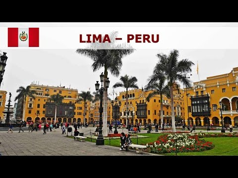 Lima - the sights of the capital of Peru