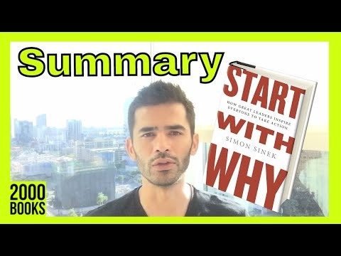 Start With Why book Summary - Top 3 Ideas from Start with Why by Simon Sinek