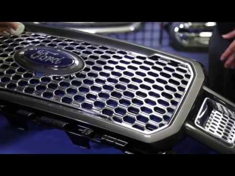 INSTALLATION: GI161 CCI Grille Overlay for Ford F150