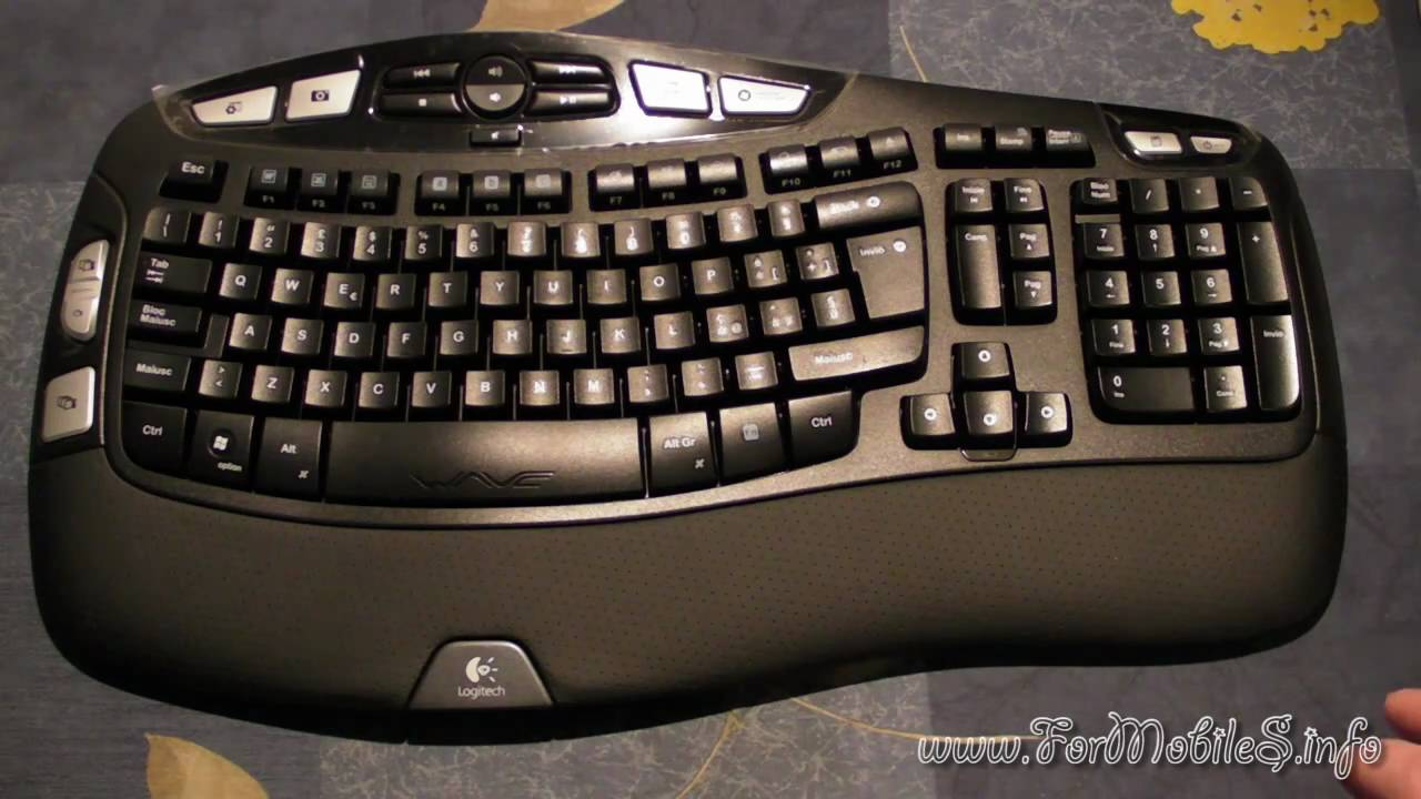 Unboxing Logitech Wireless Keyboard K350 - esclusiva italiana !