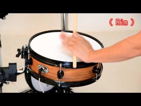 【xm-edrum】demo-for-snare-drum
